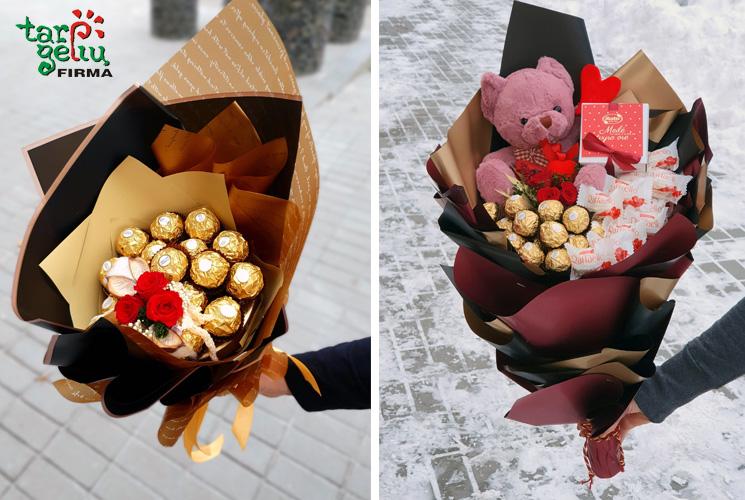 Saldžios dovanos mylimiesiems