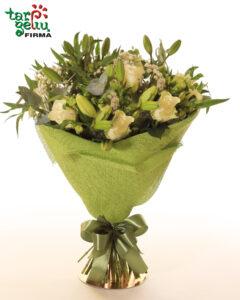 Lauko gėlių puokštė