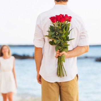 Gėlės pirmajam pasimatymui