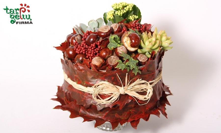 Keturiasdešimt kaštonų - tortas gimtadienio proga