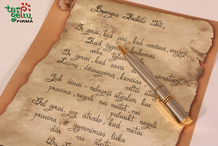 Kaligrafinis rašymas