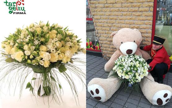 """""""Tarp gėlių"""" klientai stebina fantastiškais pageidavimais"""
