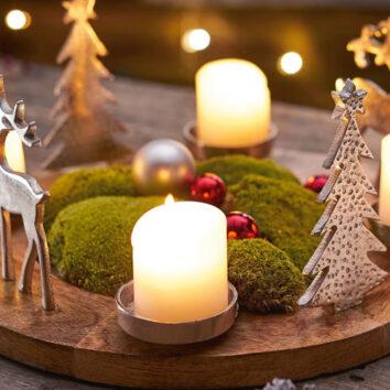 Advento ir kalėdų vainikai