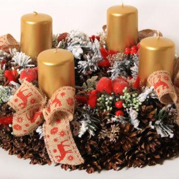 Kalėdų ir advento vainikai