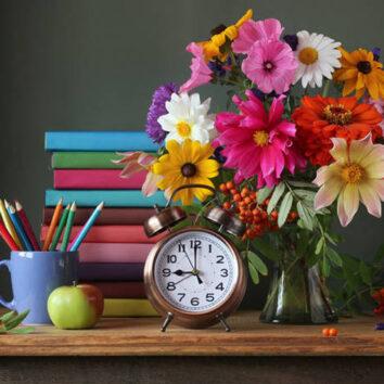 Mokytojų dienai rudeniški linkėjimai