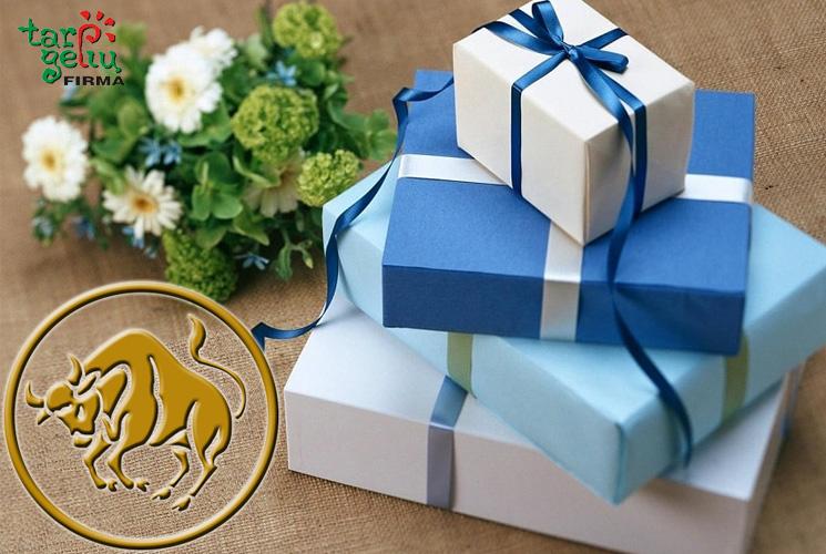 Gėlės ir dovanos Jaučiui