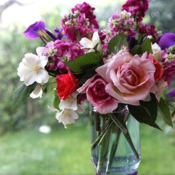 Skintos gėlės padeda sveikti!