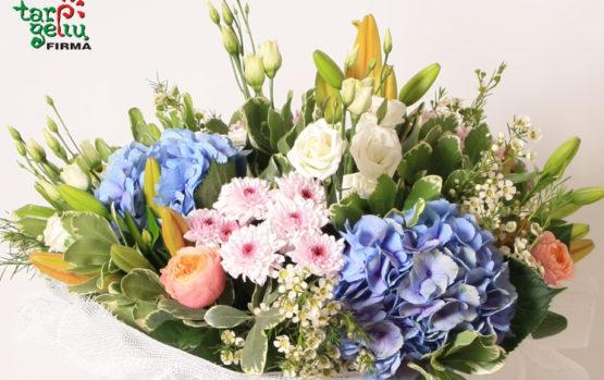 Gėlės – tarsi laimės piliulė