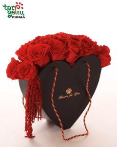 Romantiška rožių dėžutė