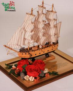 Laivas su palinkėjimu