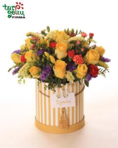 Vasariška gėlių dėžutė