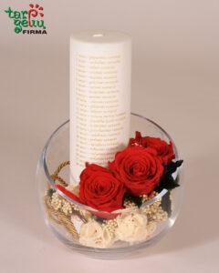 Vestuvių metinių žvakė