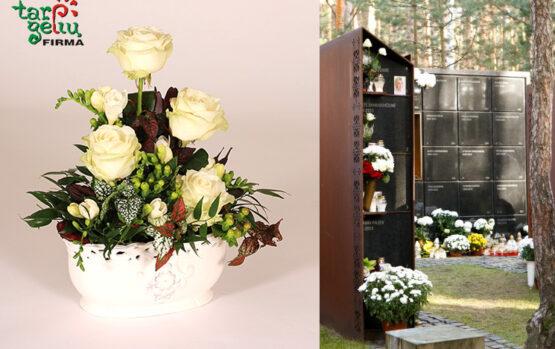 Kolumbariumas… Tokioje šventoje vietoje gėlės irgi žydi